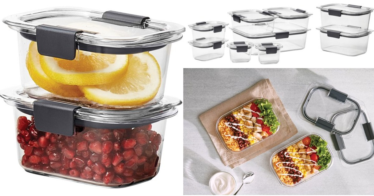 Rubbermaid Storage Containers 18-Piece Set