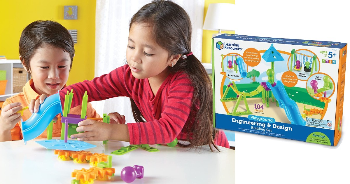 Learning Resources 104-Pc Playground Set