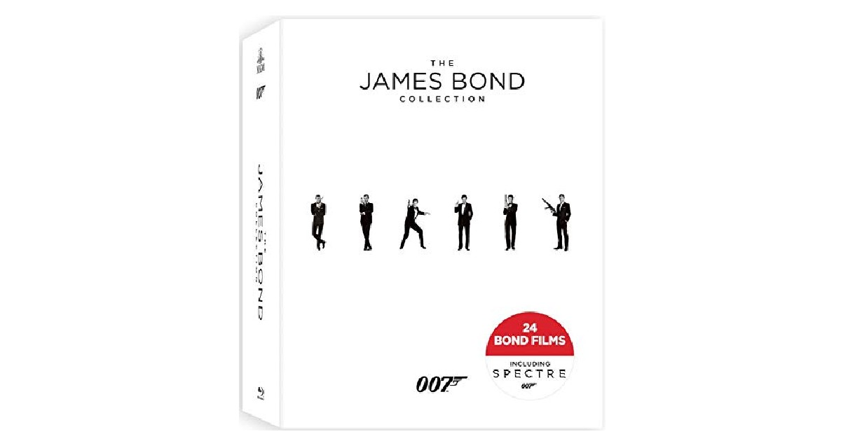 The James Bond Collection Blu-ray ONLY $59.99 (Reg. $115)