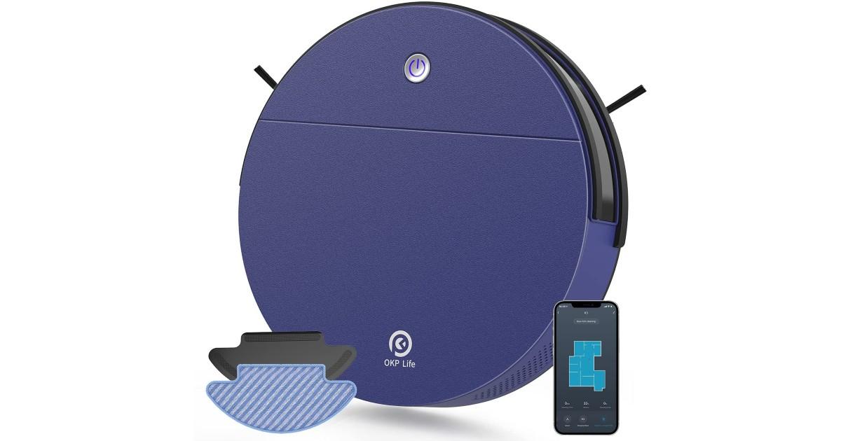 Robot Vacuum Cleaner 2 in 1