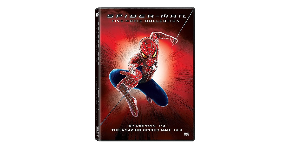 Spider-Man Collection DVD ONLY $12.76 (Reg. $27)
