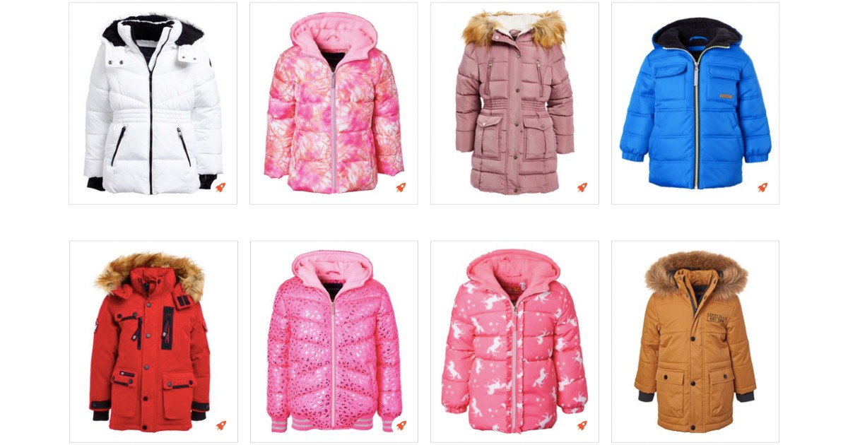70% Off Outstanding OuterwearKids + Extra 10% Off at Checkout