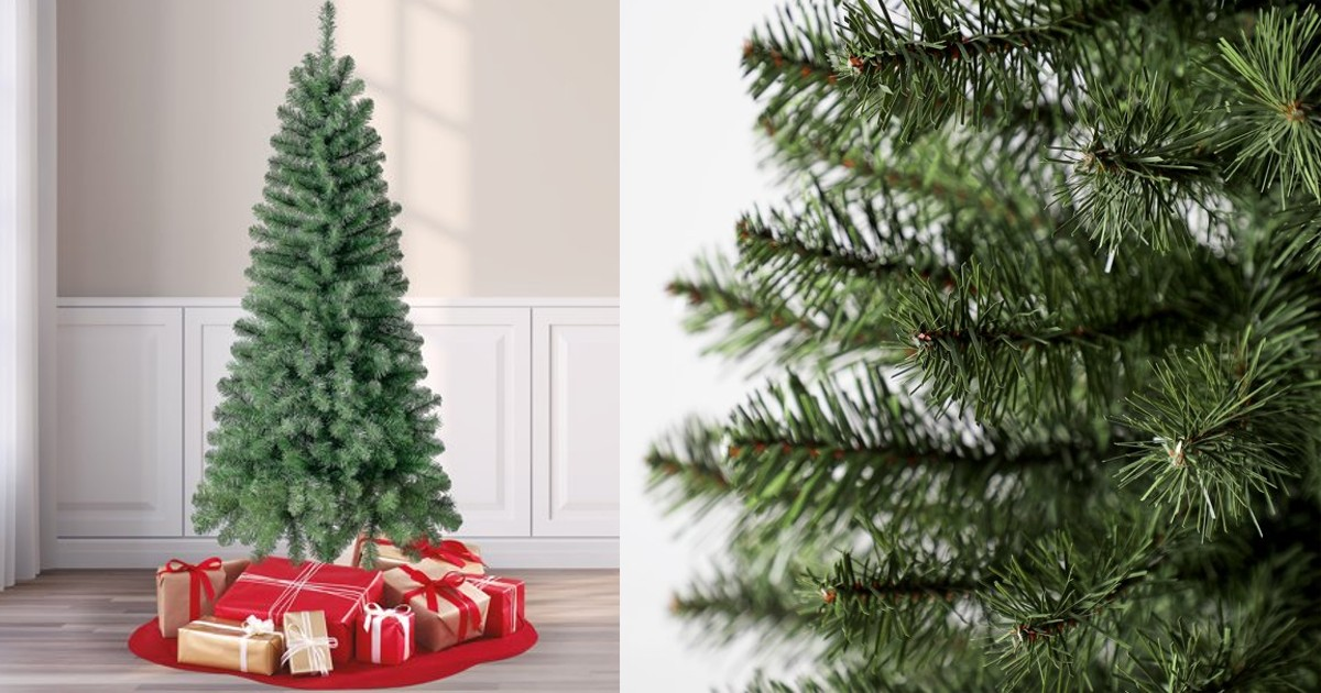Holiday Time Non-Lit Artificial Christmas Tree