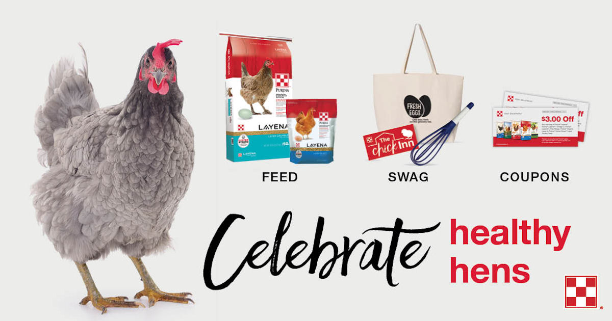 FREE Purina Hens Tote Bag Whisk Sticker and More