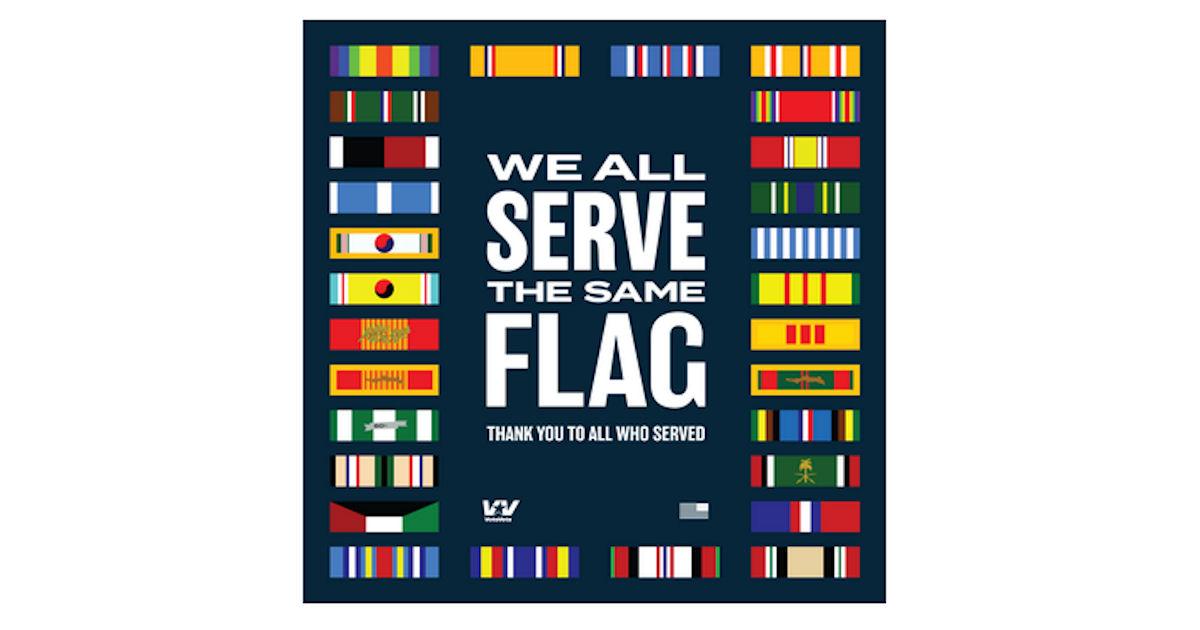 FREE VoteVets Veterans Day Sti...