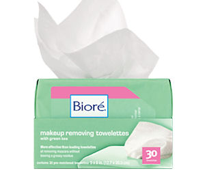 Get a FREE Sample of Biore Make-Up RemovingTowelette