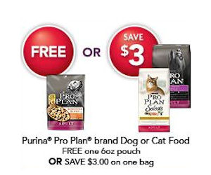 photo about Purina Pro Plan Coupons Printable titled Purina Expert Program - Coupon for a Totally free Bag with Petsmart Signal