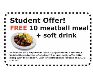 ikea free meal coupon