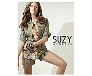 About Suzy Shier: Suzy Shier is a Canadian women's apparel brand that offers trendy clothing at an affordable price! They sell blouses, dresses, leggings, jackets & more, and allow you to shop specific trend segments! Contact Suzy Shier: Call or .
