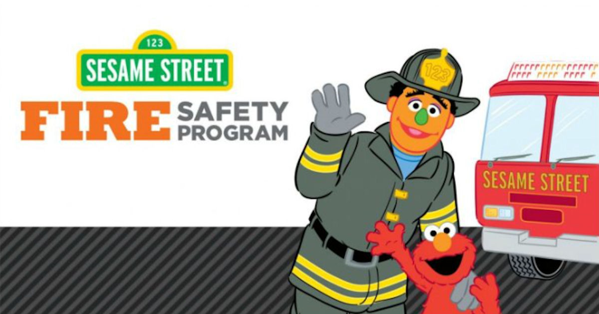 FREE Sesame Street Fire Safety...