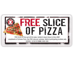 Extreme pizza coupon code