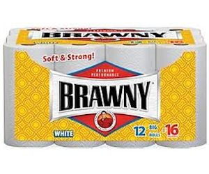 photograph about Brawny Printable Coupons known as Brawny - $1 Off Coupon For Brawny Paper Towels - Printable