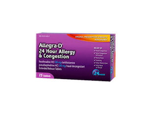 image relating to Allegra D Coupons Printable identified as Allegra-D - Coupon Legitimate for $2 Off Allegra-D 12 Hour or 24