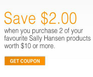 Sally Hansen Save 2 Off With Coupon Printable Coupons