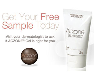 Aczone Acne Gel Free Sample With Coupon At Dermatologist Free