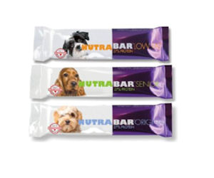 FREE Nutrabar dog treat sample...