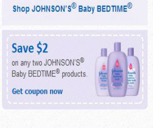picture relating to Johnson and Johnson Coupons Printable called Johnsons - Coupon for $2 off Child Bedtime Merchandise
