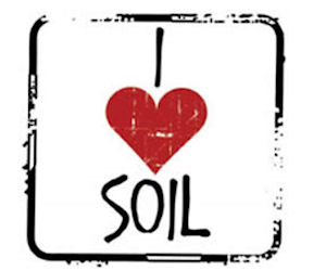FREE I Love Soil Stickers...