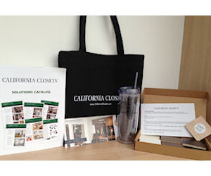 Free Tote Bag U0026 Water Bottle With California Closets Sample Kit
