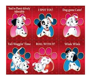 Print Free Disney 101 Dalmations Valentineu0027s Day Cards