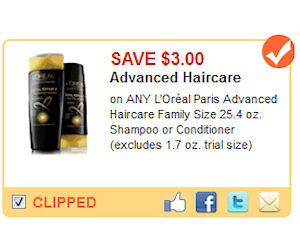 graphic regarding Loreal Printable Coupon named Loreal Highly developed - $3 Off Coupon + Walmart Bundle *Very hot