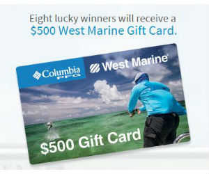 Win a $500 West Marine Gift Card - Free Sweepstakes, Contests ...