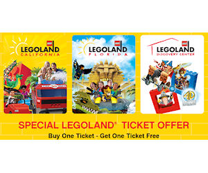 Legoland Coupon For A Bogo Free Ticket Printable Coupons