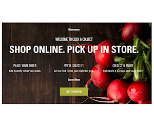 click and collect promo code