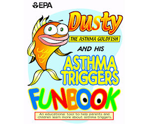 Image result for dusty the asthma goldfish
