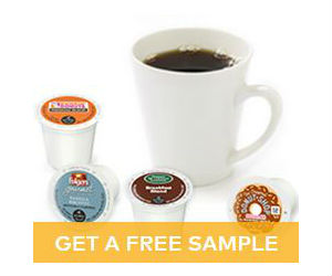 A multitude of free samples today: Free K-cups, stylus