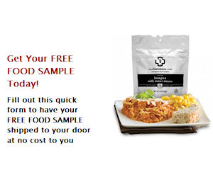 Free Food Insurance Emergency Food Entree Sample - Free Product ...