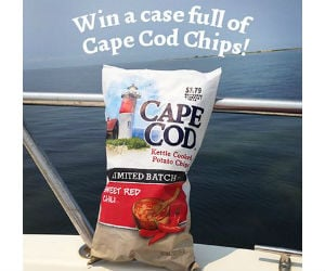 Win a case of cape cod chips free sweepstakes contests for Case modello cape cod