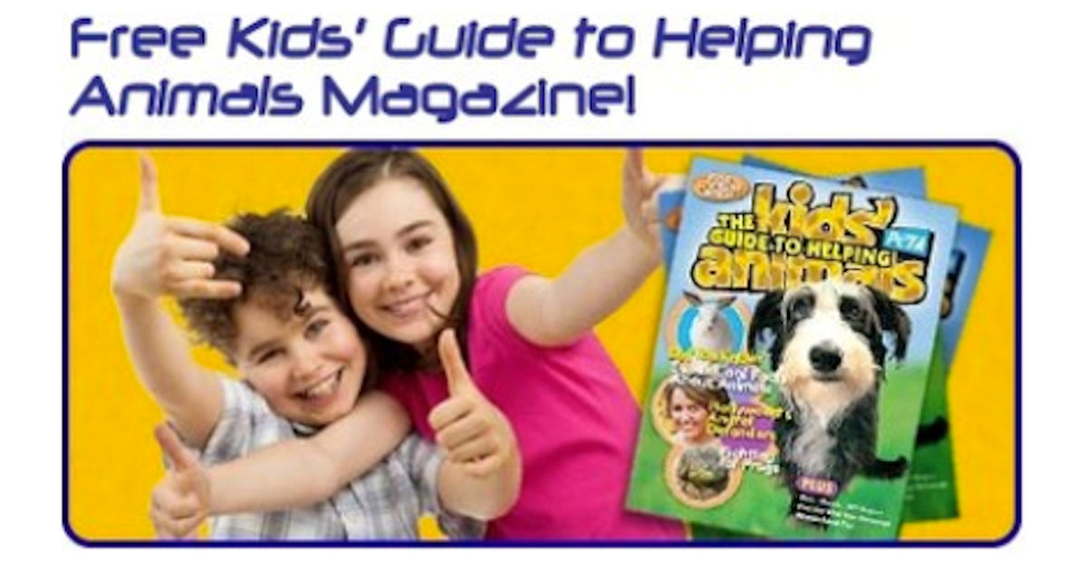 FREE Kids' Guide to Helping An...