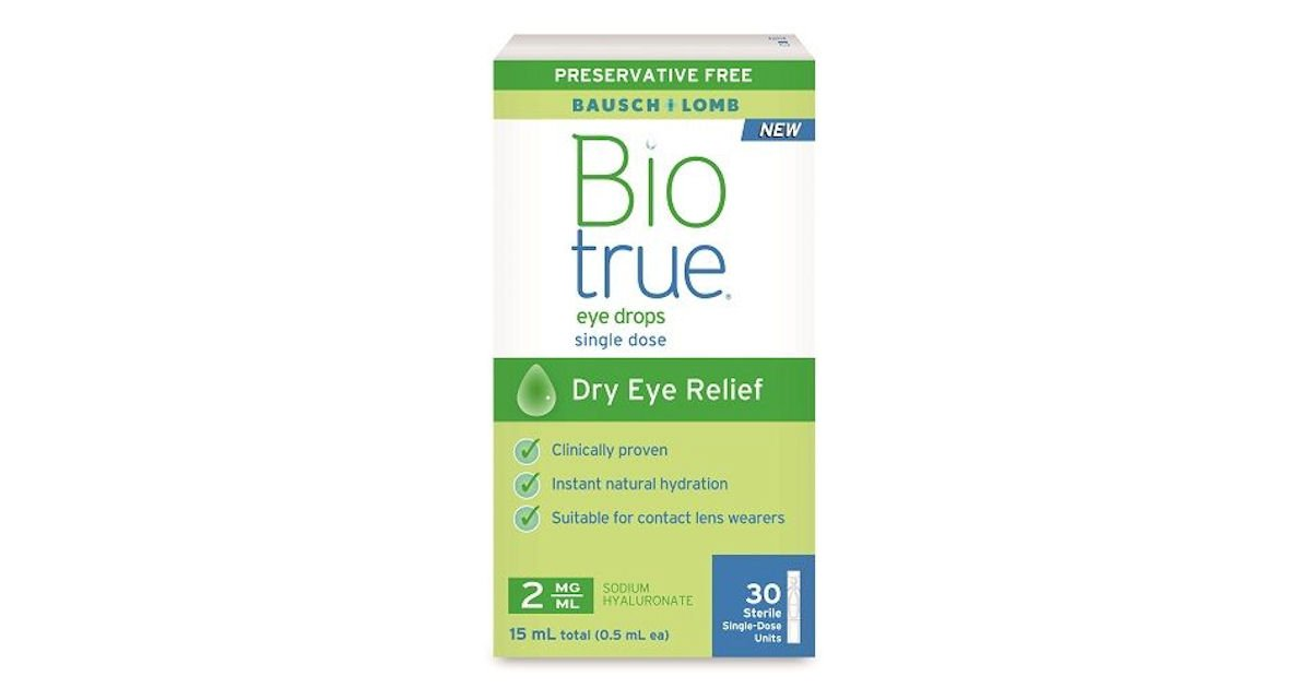 Free Sample of Biotrue Contact Lens Solution - Free Product Samples