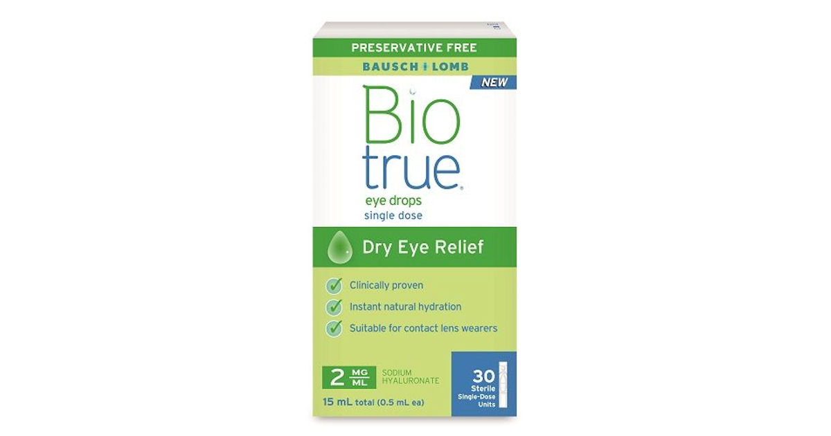 FREE Sample of Biotrue Contact...