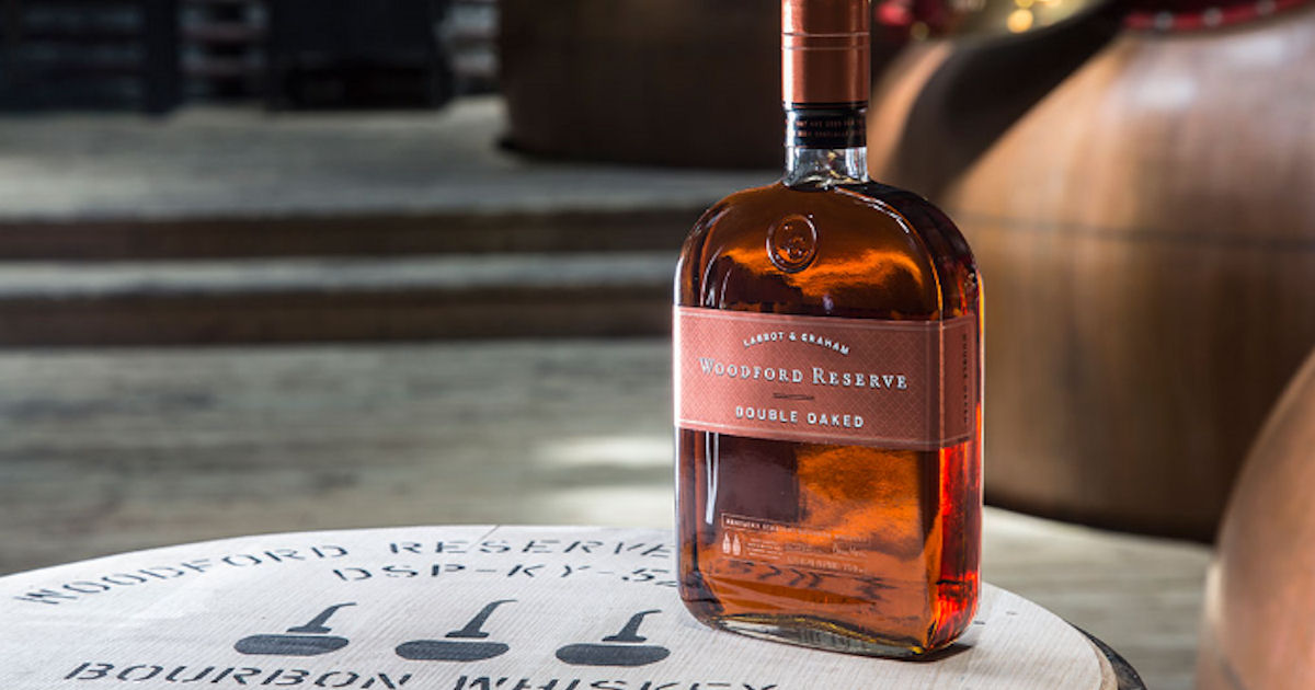 It's just a graphic of Rare Woodford Reserve Personalized Label Program