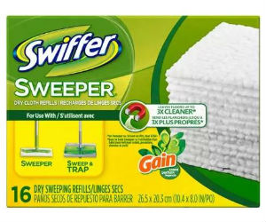 photograph about Swiffer Printable Coupons called Swiffer - $2 Off Dry Material Refills Coupon + Walmart Package deal