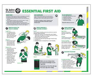 Free St John First Aid Guide Free Stuff Amp Freebies