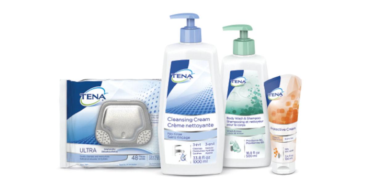 FREE Tena Skin-Caring Wash Cre...