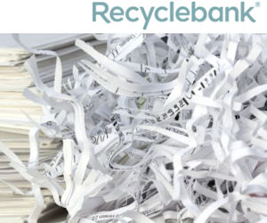 5 FREE Recyclebank Points...
