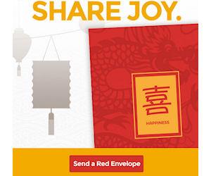 Panda express red envelope
