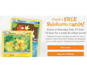 Free Pokemon Toys