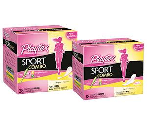 FREE Playtex Sport Pads, Liner...