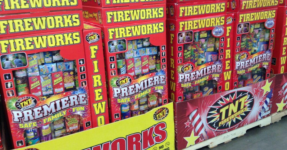 FREE TNT Fireworks Poster, Sti...