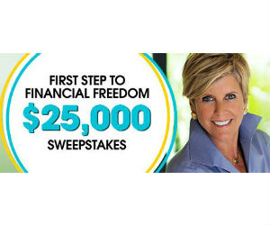 Win $25,000 Cash from HSN & Suze Orman - Free Sweepstakes