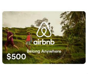 Win A 500 Airbnb Gift Card From The Points Guy Free Sweepstakes