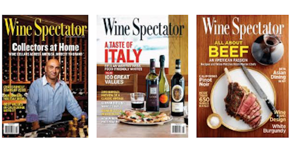 FREE Subscription to Wine Spec...