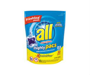 all laundry detergent pacs 3 at walgreens with coupon