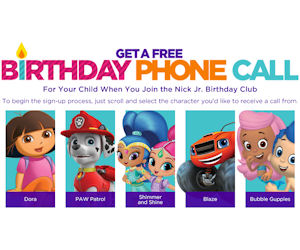 FREE Personalized Birthday Cal...
