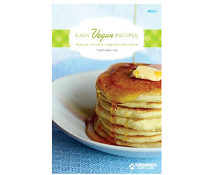 FREE Easy Vegan Recipes Bookle...